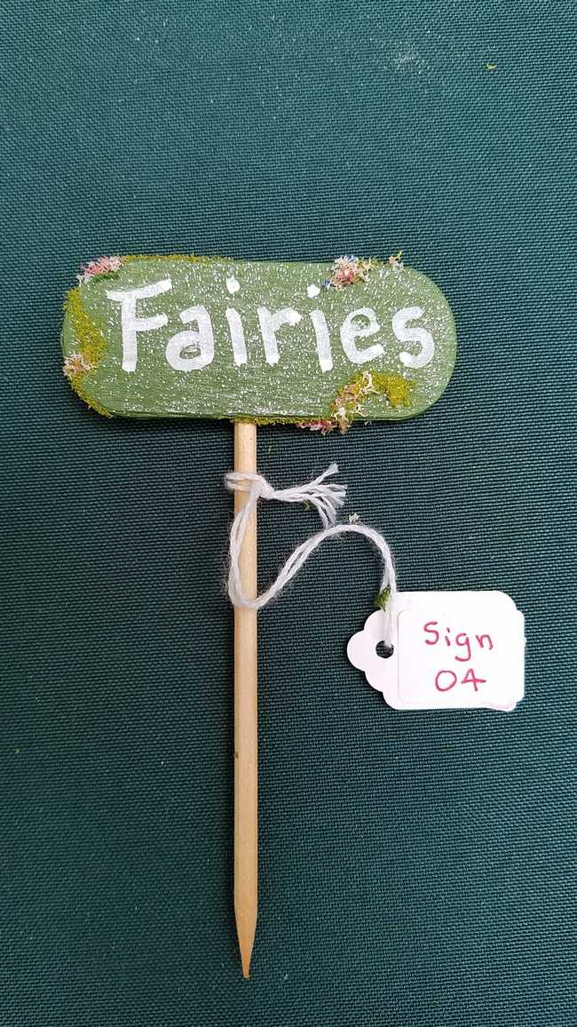 Click to view more Fairy Garden Signs Shop Online